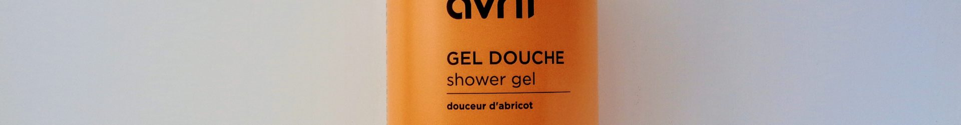 Avril – Gel douche bio (Coeur d'abricot) (500ml)