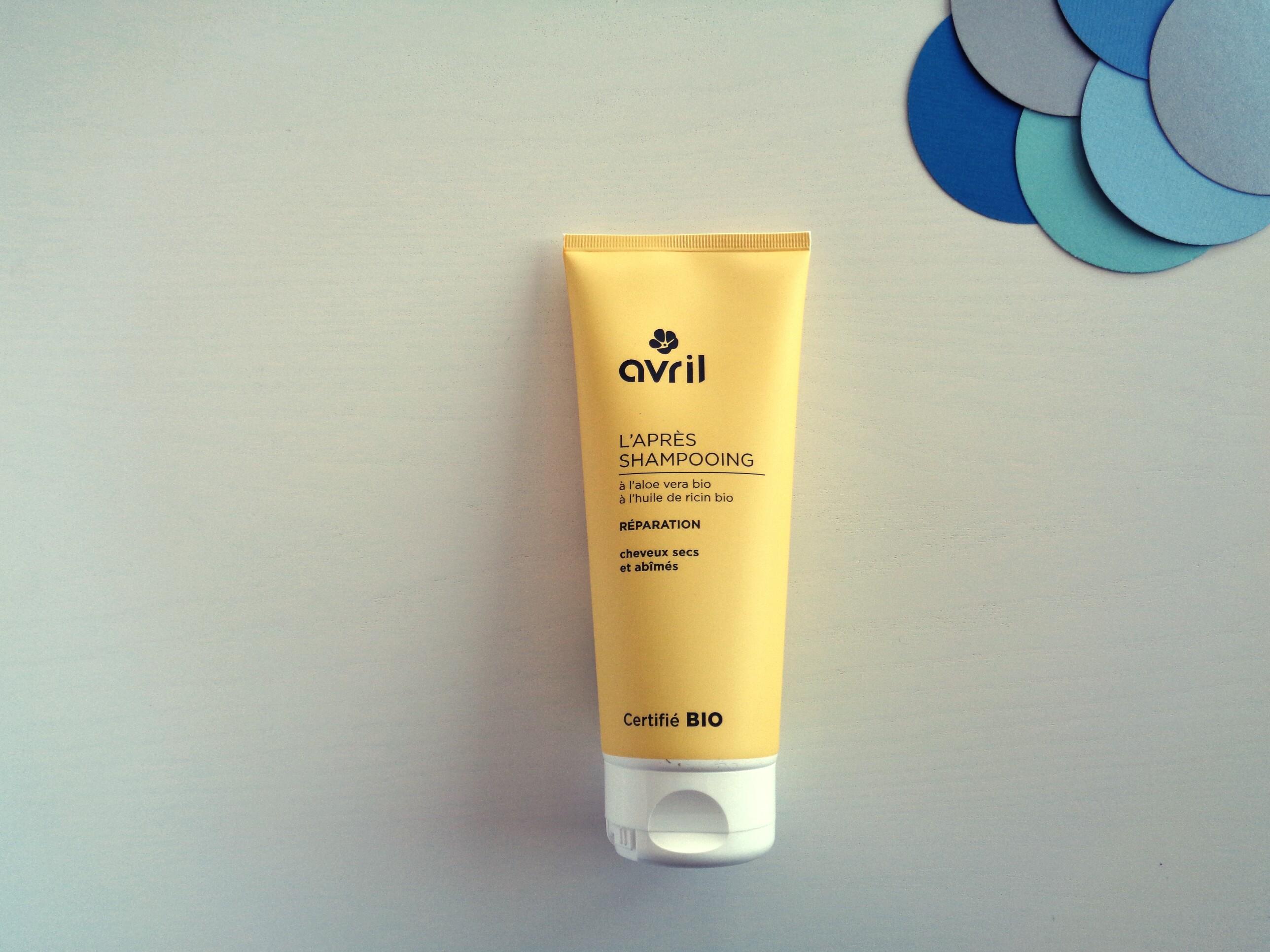 Avril – Après-shampooing bio Réparation (200ml)