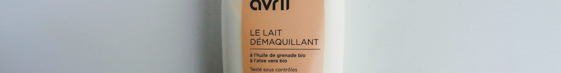Avril – Lait démaquillant à l'huile de grenade bio (250 ml)