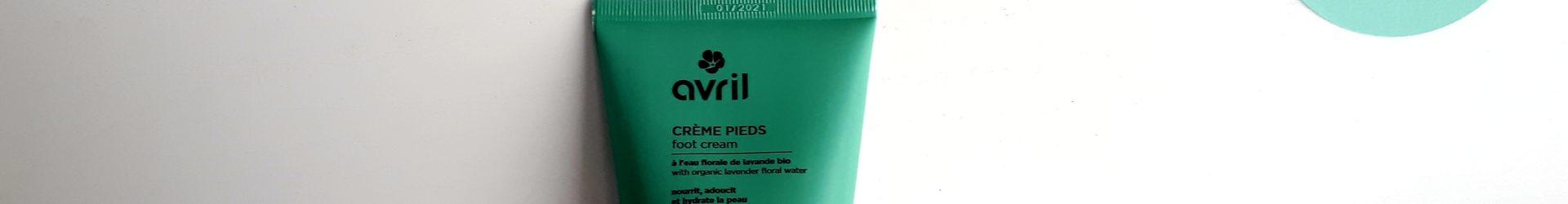Avril – Crème pieds bio (100ml)