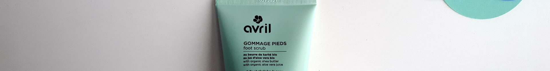 Avril – Gommage pieds bio (100ml)