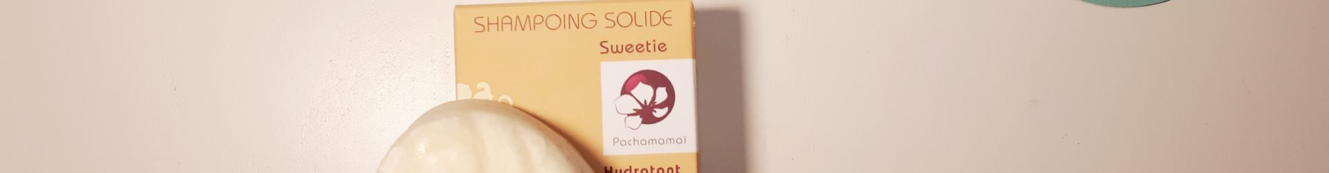 Pachamamaï – Shampoing démêlant solide Sweetie (65g)