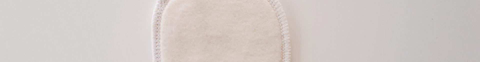 Avril – Carré démaquillant lavable en coton bio (10x10cm)