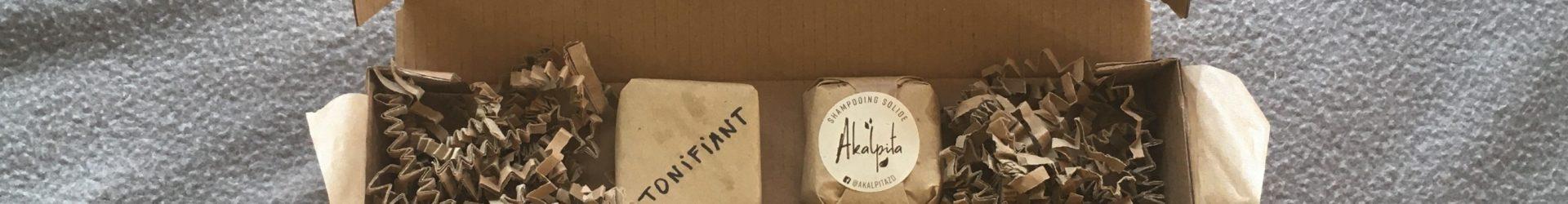 Shampooing solide «Coffret découverte» – Akalpita