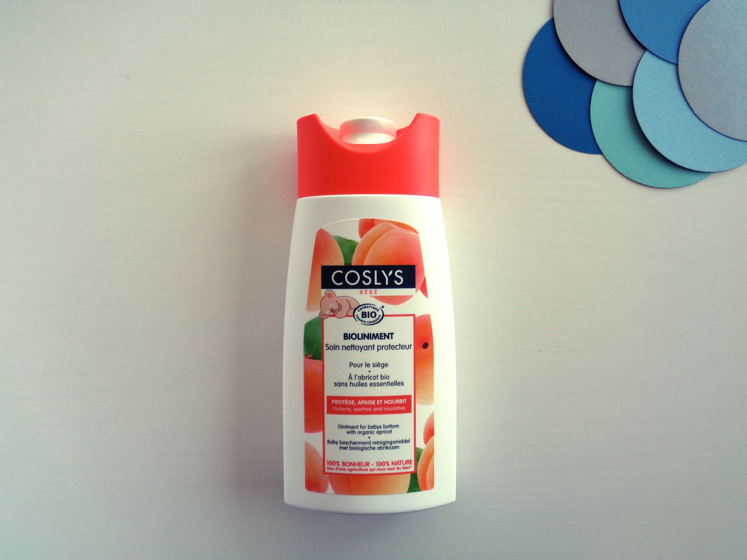 Coslys – Bioliniment spécial siège (250ml) – Bébé